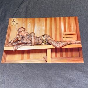 Jeffree Star postcard for latest collection